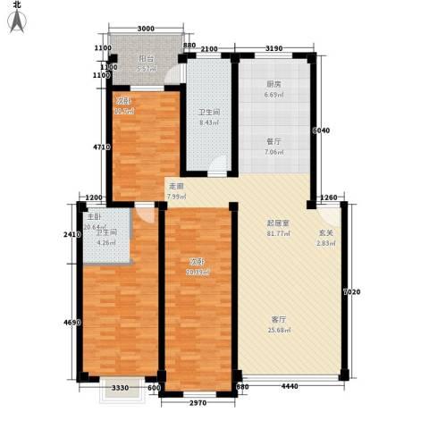 西湖景园1室0厅1卫0厨144.00㎡户型图