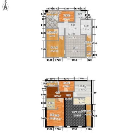智地哥谭3室0厅2卫1厨144.25㎡户型图