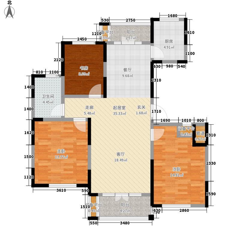 东菱阳光乐园119.00㎡二期5、6号楼I户型