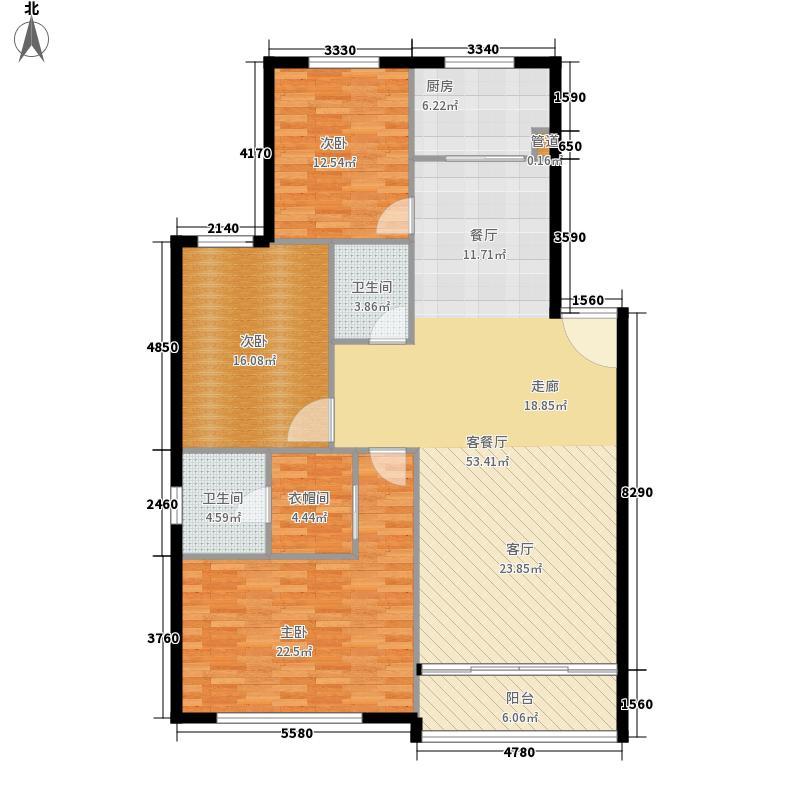 腾龙家园142.18㎡2面积14218m户型