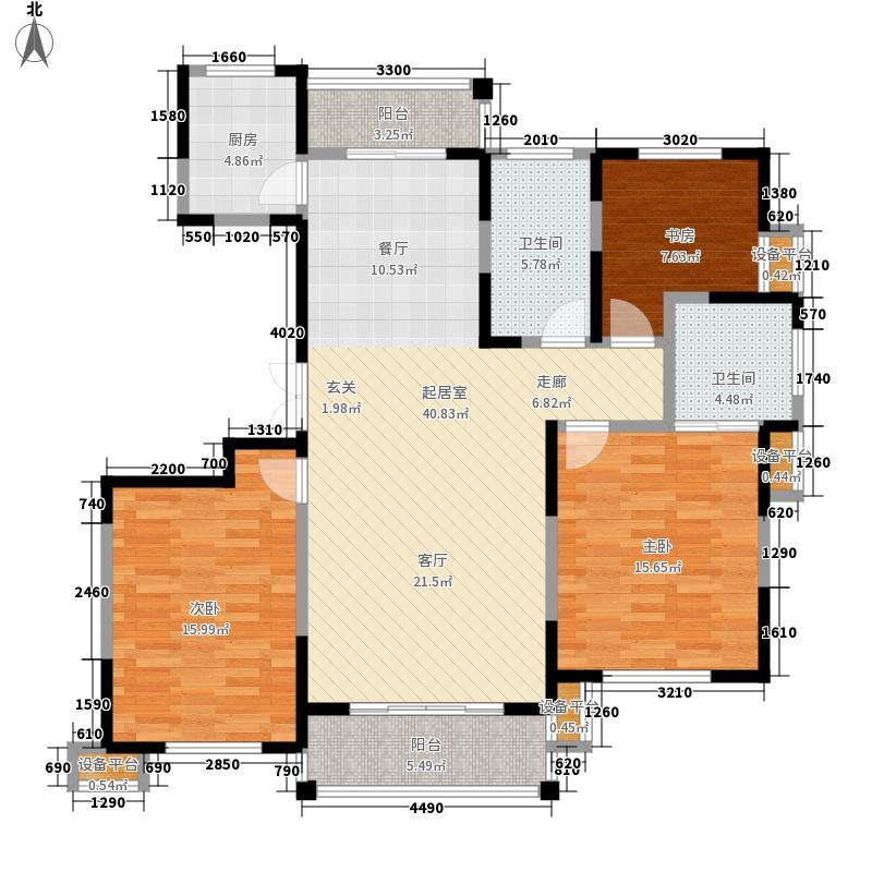 东菱阳光乐园137.00㎡二期7号楼J、K户型