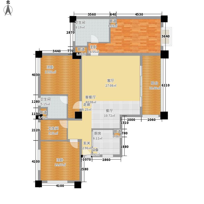夏威夷海岸162.00㎡公寓户型