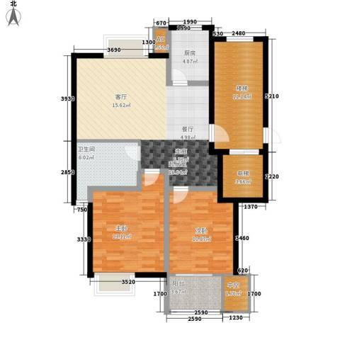 新隆蓝天公寓2室0厅1卫1厨94.00㎡户型图