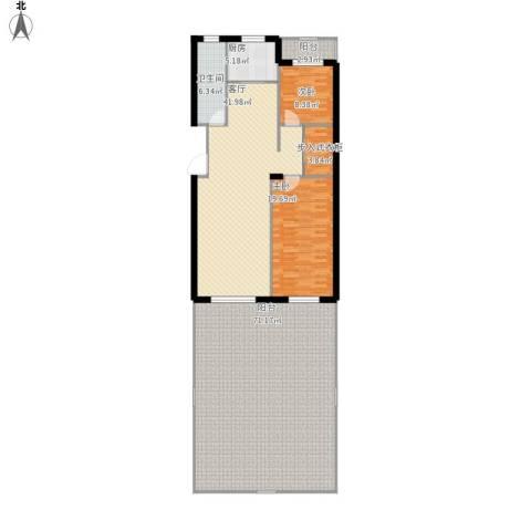 美树日记2室1厅1卫1厨216.00㎡户型图
