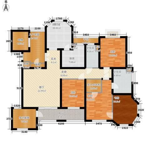 瑶溪凤凰城4室0厅2卫1厨211.00㎡户型图