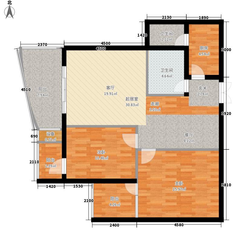 天海青城天海青城户型图(6/12张)户型10室