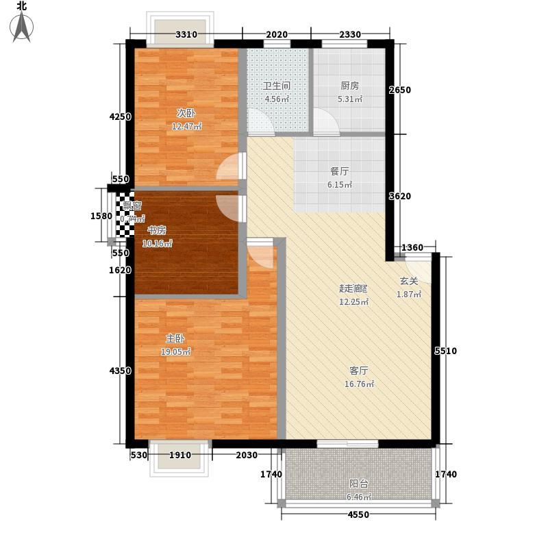 瑞奇新闻公寓130.00㎡面积13000m户型