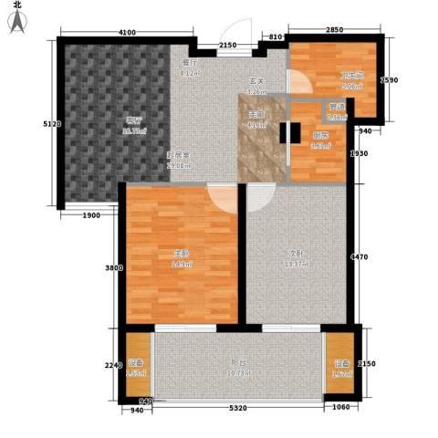 骏和国际公馆2室0厅1卫1厨113.00㎡户型图
