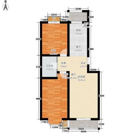 快乐老家2室0厅1卫0厨102.00㎡户型图