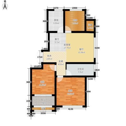 武铁向阳小区3室0厅1卫1厨116.00㎡户型图