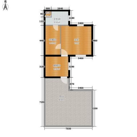 立达博雅苑1室0厅1卫0厨280.00㎡户型图