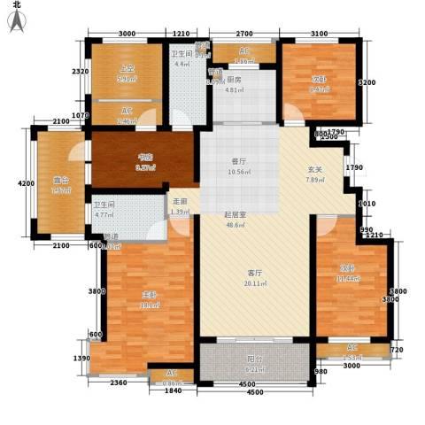 富立·秦皇半岛3室0厅2卫1厨150.00㎡户型图