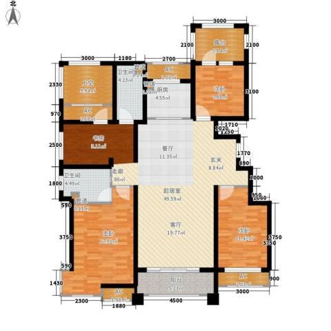富立·秦皇半岛3室0厅2卫1厨148.00㎡户型图