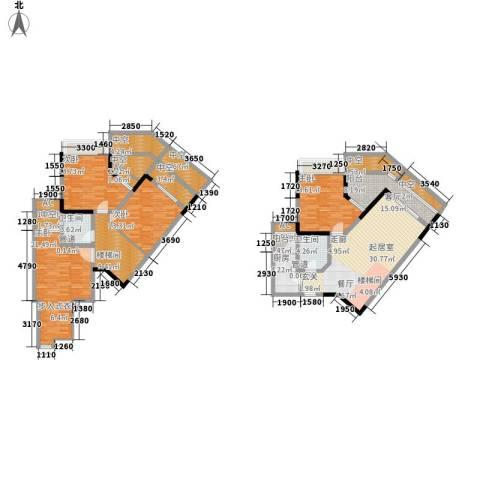 东海滨江城4室0厅2卫1厨148.77㎡户型图
