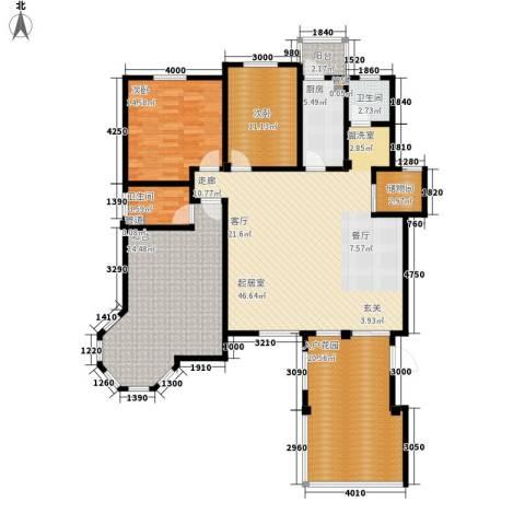 洪城比华利2室0厅2卫1厨187.00㎡户型图