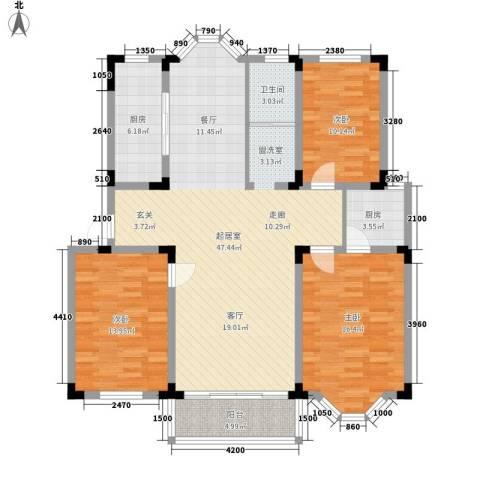 河坊人家3室0厅1卫2厨105.68㎡户型图