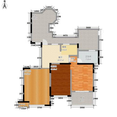 中海国际社区1厅1卫0厨155.00㎡户型图