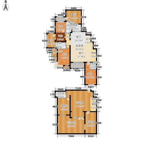 富立·秦皇半岛3室0厅4卫1厨395.00㎡户型图
