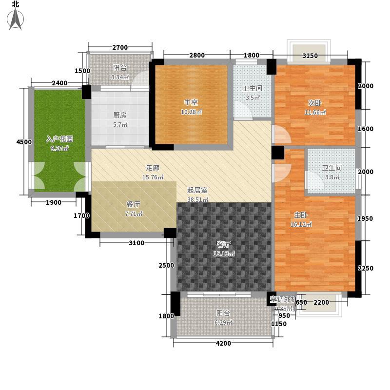 枫桥尚城117.93㎡二期22栋Q1户型