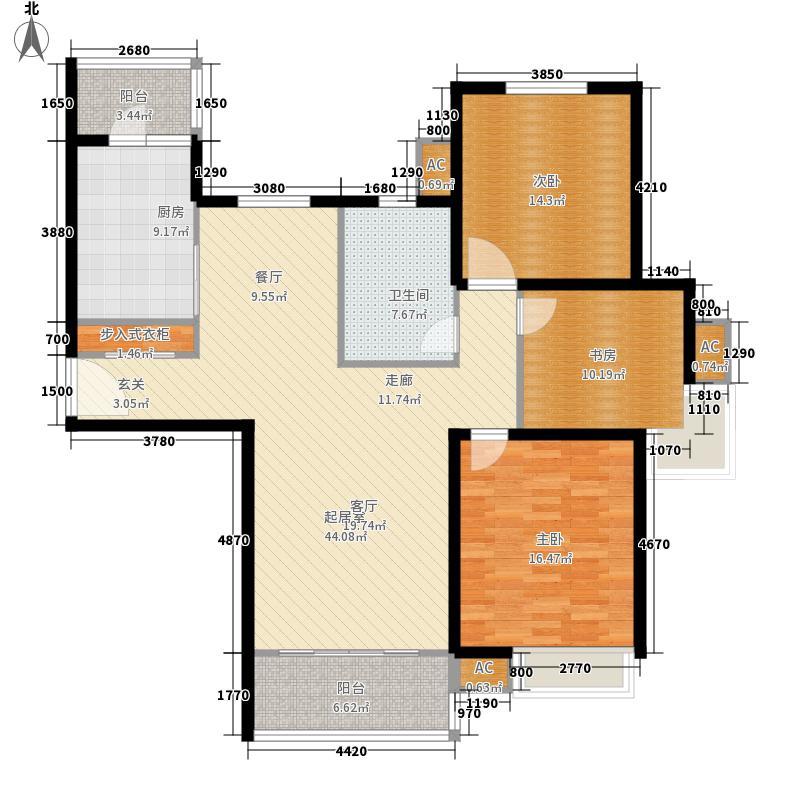 湖山新意117.00㎡12#21#22#23#楼面积11700m户型