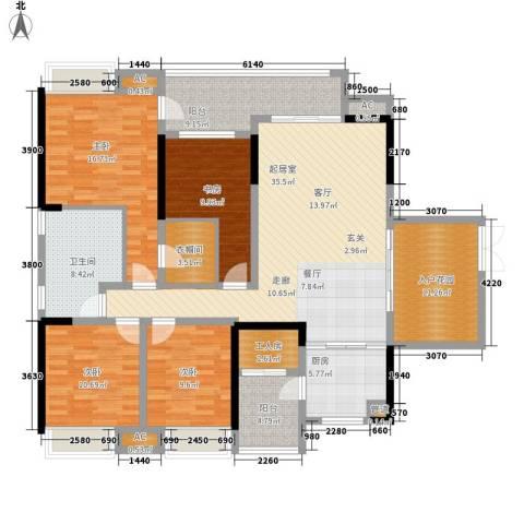 东和院4室0厅1卫1厨189.00㎡户型图