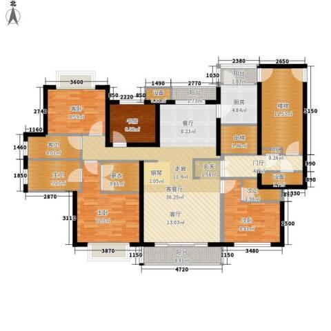 宝业大坂风情4室1厅0卫1厨195.00㎡户型图