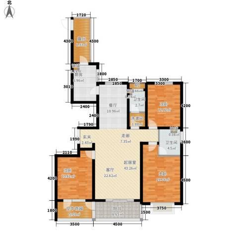 维多利亚时代3室0厅2卫1厨174.00㎡户型图