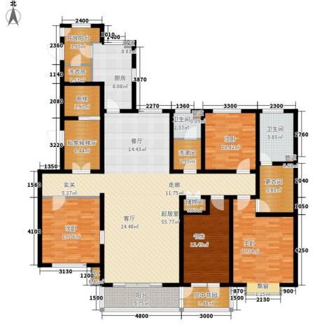 维多利亚时代4室0厅2卫1厨234.00㎡户型图