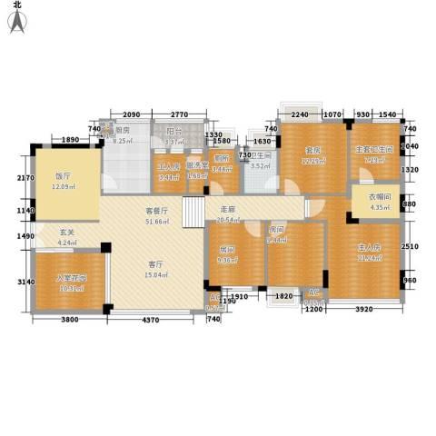 江南世家1厅1卫1厨207.00㎡户型图