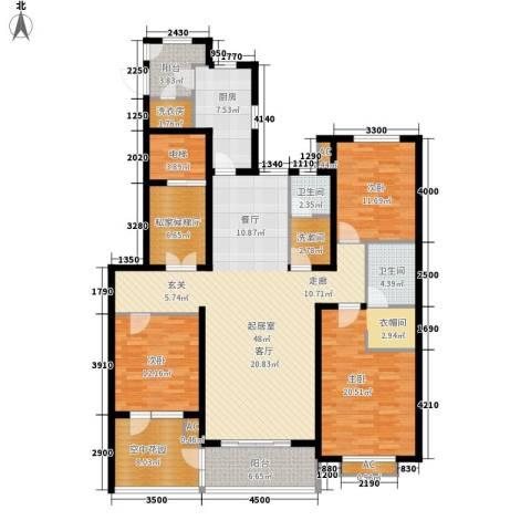 维多利亚时代3室0厅2卫1厨204.00㎡户型图