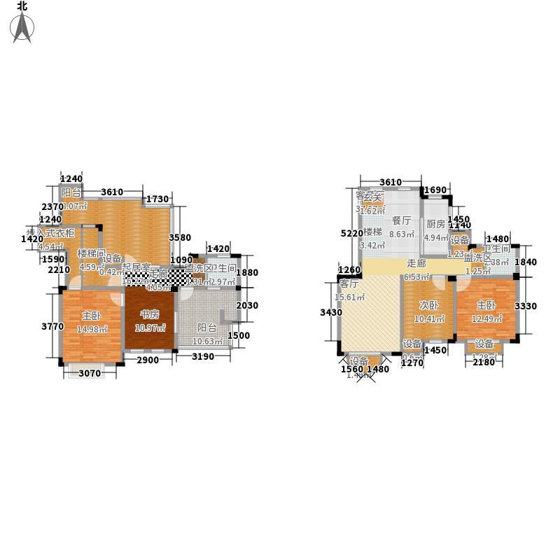东方维罗纳165.00㎡G5户型2室2厅