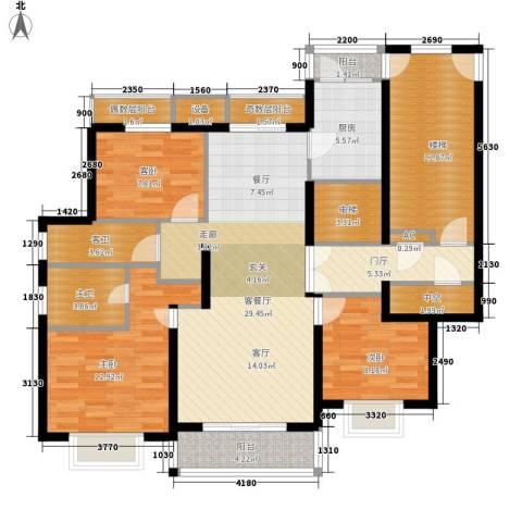 宝业大坂风情3室1厅0卫1厨143.00㎡户型图
