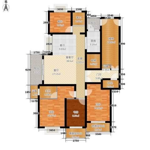 宝业大坂风情4室1厅0卫1厨167.00㎡户型图