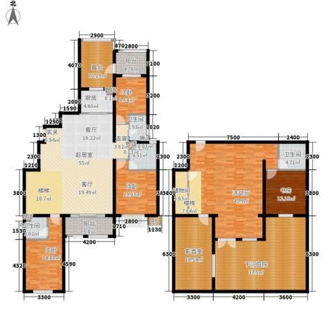 富立·秦皇半岛4室0厅4卫1厨251.00㎡户型图