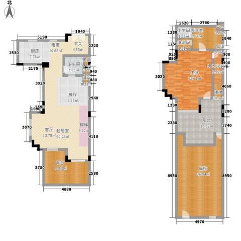春晖园·随园1室0厅2卫0厨192.00㎡户型图