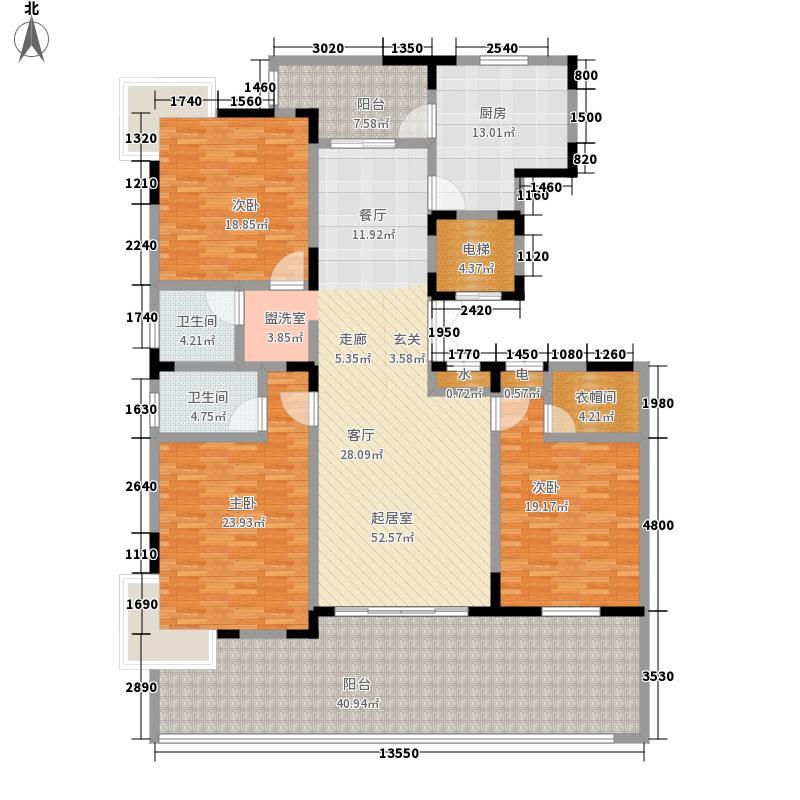 华商名邸175.06㎡房型: 三房; 面积段: 175.06 -175.06 平方米; 户型