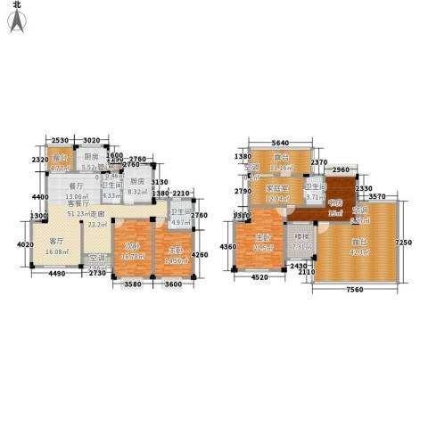 紫园4室1厅3卫2厨226.59㎡户型图