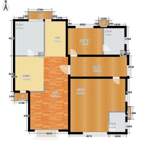 洛阳碧桂园1室0厅3卫0厨200.00㎡户型图