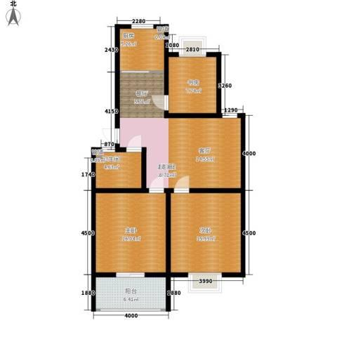 威海花园3室0厅1卫1厨119.00㎡户型图