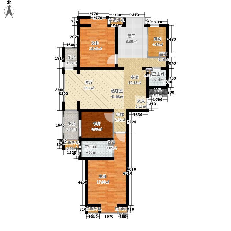 中基礼域135.54㎡22#楼-面积13554m户型