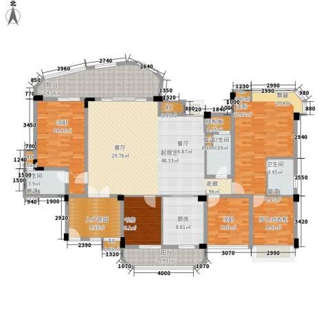 碧桂园翡翠山4室0厅3卫1厨194.00㎡户型图