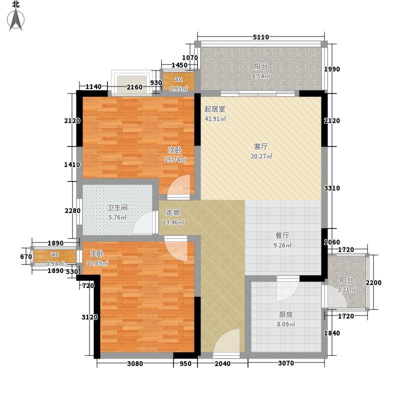 渝景大厦118.00㎡面积11800m户型