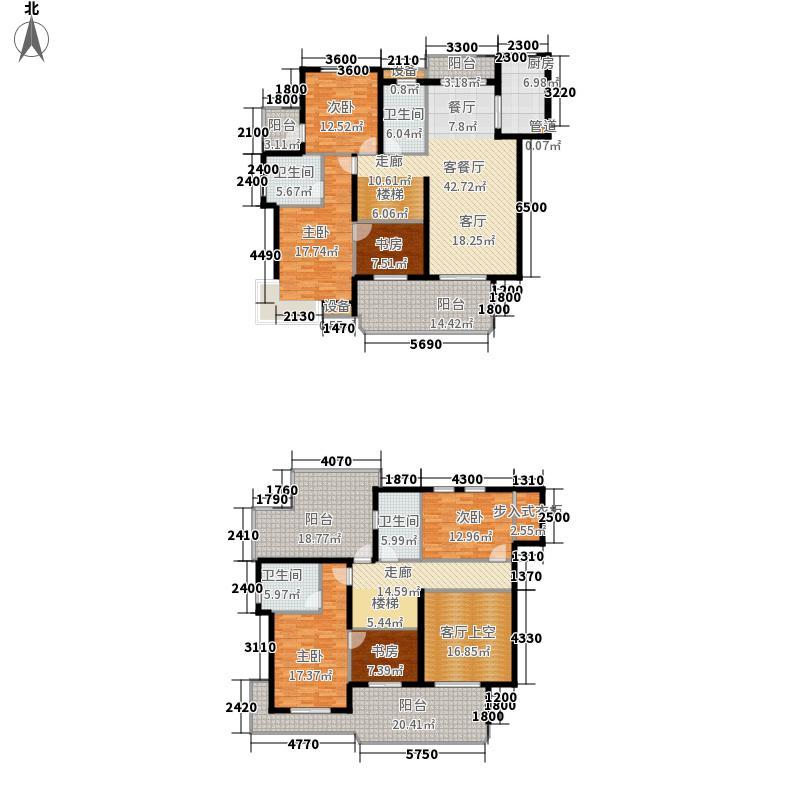 恒鑫文锦苑251.00㎡小高层6号楼GCA-1(复)户型