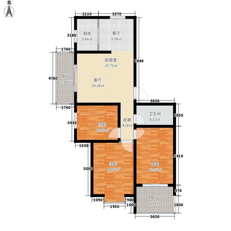 嘉大玉如意128.00㎡嘉大玉如意128.00㎡3室2厅1卫户型3室2厅1卫