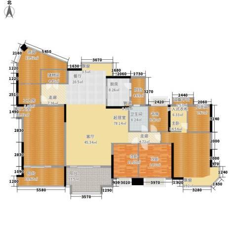 海伦堡御院4室0厅2卫1厨254.91㎡户型图