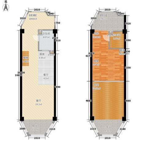海巢2卫0厨145.00㎡户型图