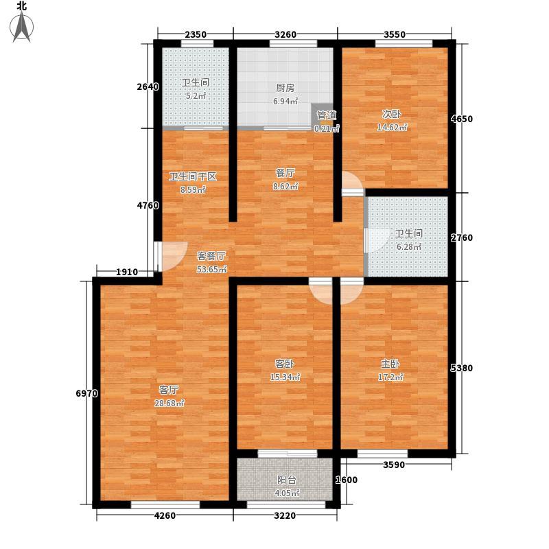 阳光新馨家园139.00㎡F2面积13900m户型