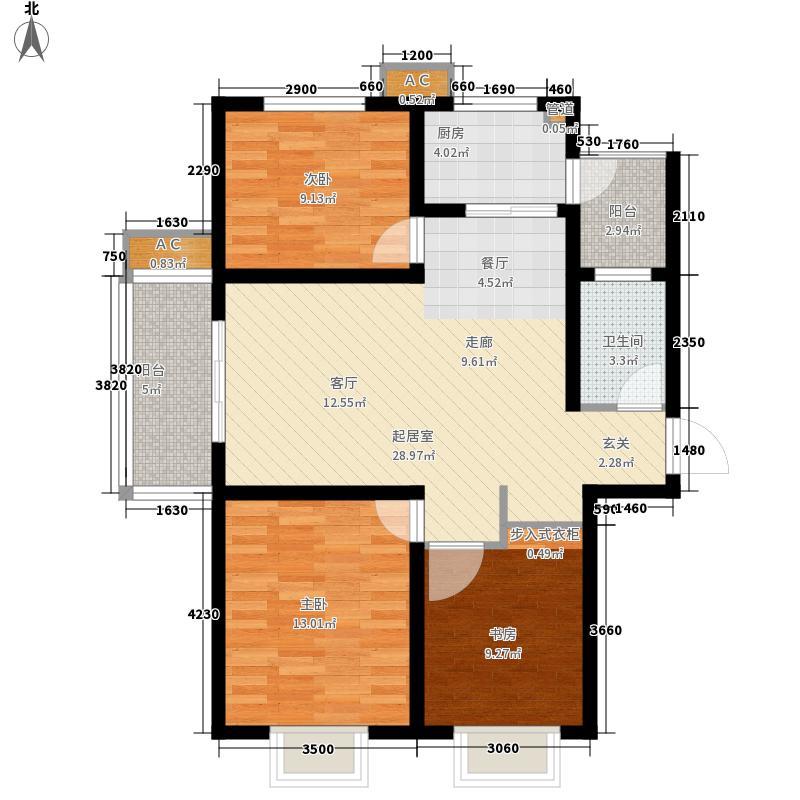 五洲国际官邸四期15#楼L户型