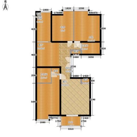 仁和嘉园3室0厅2卫1厨148.00㎡户型图