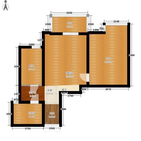 仁和嘉园1室0厅1卫1厨63.00㎡户型图